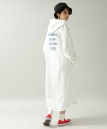 ワンピース プリント裏毛パーカーワンピース/933866 ZOZOTOWN PayPayモール店