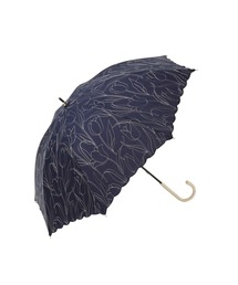傘 【UV&晴雨兼用傘】チューリップ刺繍 長傘 日傘|ZOZOTOWN PayPayモール店