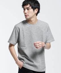 tシャツ Tシャツ ブレンドカラーWジャガードTシャツ|ZOZOTOWN PayPayモール店