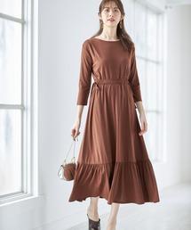 ワンピース 裾フリルワンピース《美香さんコラボアイテム》|ZOZOTOWN PayPayモール店