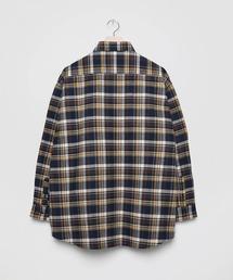 シャツ ブラウス Sasanqua twill shaggy Check shirt 〜JAPAN MADE〜|ZOZOTOWN PayPayモール店