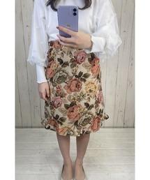 スカート 裾フリルゴブランスカート|ZOZOTOWN PayPayモール店