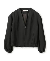 ジャケット ブルゾン ESTNATION / Vネックジップアップブルゾン|ZOZOTOWN PayPayモール店