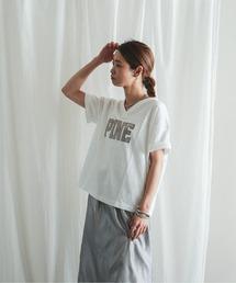 tシャツ Tシャツ PINE刺繍 VネックTシャツ|ZOZOTOWN PayPayモール店