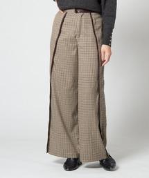 パンツ Lantana check pants / ランタナチェックパンツ|ZOZOTOWN PayPayモール店