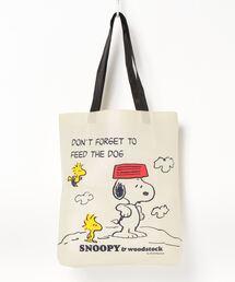 エコバッグ バッグ [スヌーピー] 不織布トートバッグ|ZOZOTOWN PayPayモール店