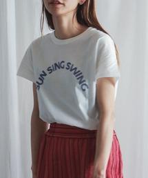 tシャツ Tシャツ SUN SING SWINGプリント 半袖TEE|ZOZOTOWN PayPayモール店