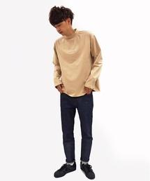 tシャツ Tシャツ COMANDANTE(コマンダンテ)ローマ字ロゴモックネックロンT / ロングスリーブTシャツ / cmnb2d ZOZOTOWN PayPayモール店