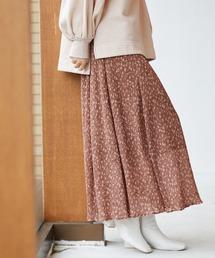 スカート 小花プリーツスカート 925524|ZOZOTOWN PayPayモール店