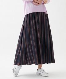 スカート 【BEATRICE】配色ストライプロングスカート ZOZOTOWN PayPayモール店