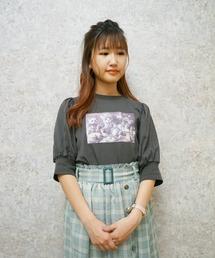 tシャツ Tシャツ おかしなお茶会パフ袖Tシャツ|ZOZOTOWN PayPayモール店