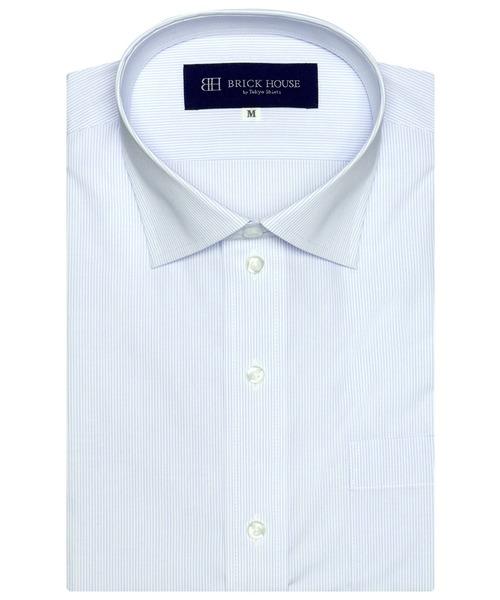 形態安定ノーアイロン ワイド 販売期間 限定のお得なタイムセール 半袖ビジネスワイシャツ 超人気 専門店