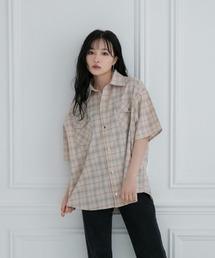 シャツ ブラウス 【UNISEX】スナップチェックシャツ ZOZOTOWN PayPayモール店