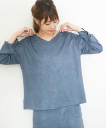 tシャツ Tシャツ La・comfy / スエードVネックPO|ZOZOTOWN PayPayモール店