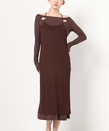 ワンピース HOLE DRESS AND HALTER DRESS|ZOZOTOWN PayPayモール店