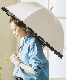 傘 完全遮光 晴雨兼用フリルショート傘 ZOZOTOWN PayPayモール店