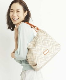 トートバッグ バッグ 【2WAY】異素材切り替えデザインバッグ|ZOZOTOWN PayPayモール店