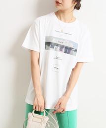 tシャツ Tシャツ Roberta Bayley グラフィックフォトTEE【洗濯機使用可能】◆|ZOZOTOWN PayPayモール店