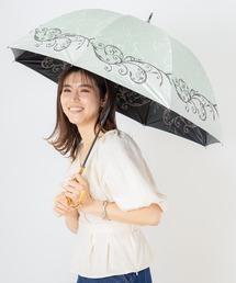 傘 完全遮光 晴雨兼用プリント&刺繍ショート傘 オリエンタル柄 ZOZOTOWN PayPayモール店
