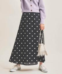 スカート ドットロングスカート|ZOZOTOWN PayPayモール店