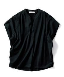 tシャツ Tシャツ IEDIT フレンチスリーブわきシェードカットソートップス|ZOZOTOWN PayPayモール店