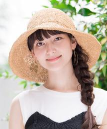 帽子 ハット カブロカムリエ ストローハット KIMENO 帽子 レディース|ZOZOTOWN PayPayモール店