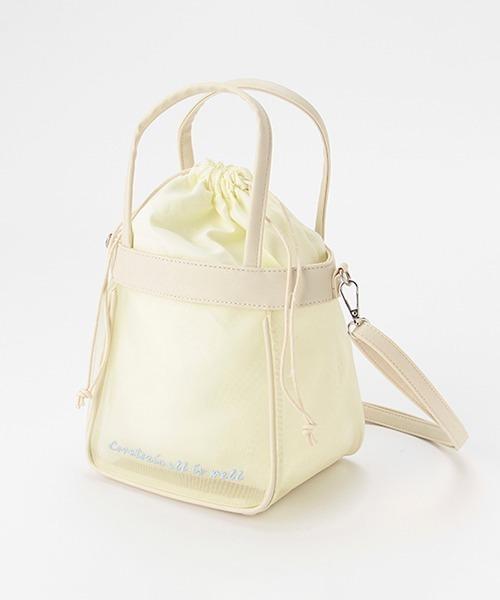 ショルダーバッグ バッグ メッシュミニショルダーバッグ 高い素材 直送商品
