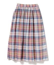 スカート CAROLINA GLASER / マドラスチェック スカート|ZOZOTOWN PayPayモール店