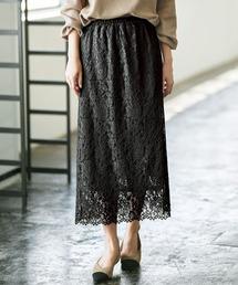 スカート 【21春新着】フラワーレースロングスカート ZOZOTOWN PayPayモール店