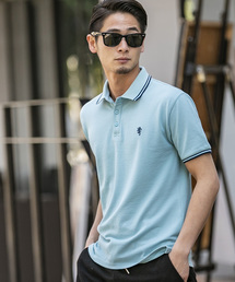 ポロシャツ サマー 鹿ノ子 / ワンポイント 刺繍 半袖 ポロシャツ|ZOZOTOWN PayPayモール店