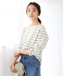 tシャツ Tシャツ ボートネックボーダーカットソー *◇|ZOZOTOWN PayPayモール店