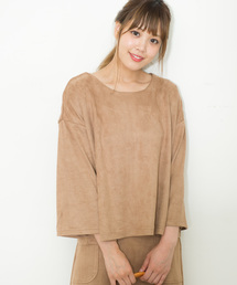 tシャツ Tシャツ La・comfy / スエードワイドプルオーバー|ZOZOTOWN PayPayモール店