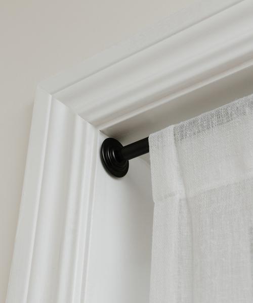 家具 umbra コレット 送料無料 新品 テンションロッド 60.9〜91.4cm ブラック S セール品 突っ張り棒
