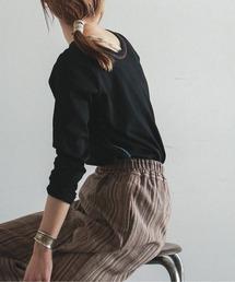 tシャツ Tシャツ バスクテレコ 9分袖カットソー|ZOZOTOWN PayPayモール店