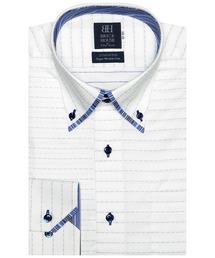 形態安定ノーアイロン マイタードゥエボットーニボタンダウンカラー 長袖ビジネスワイシャツ|ZOZOTOWN PayPayモール店