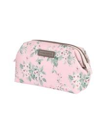 ポーチ LAURA ASHLEY (ローラアシュレイ) Wired pouch Apple blossom  ポーチ|ZOZOTOWN PayPayモール店