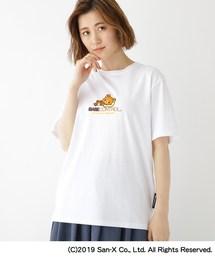 tシャツ Tシャツ コラボ 別注 リラックマ サガラ刺繍 半袖 Tシャツ ZOZOTOWN PayPayモール店