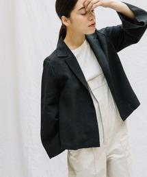 ジャケット テーラードジャケット 【Liyoca】リネンワッシャージャケット|ZOZOTOWN PayPayモール店