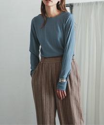 tシャツ Tシャツ シアーランダムテレコ クルーネックカットソー|ZOZOTOWN PayPayモール店