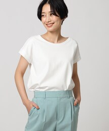 tシャツ Tシャツ セミシルケットスムースフレンチスリーブプルオーバー|ZOZOTOWN PayPayモール店