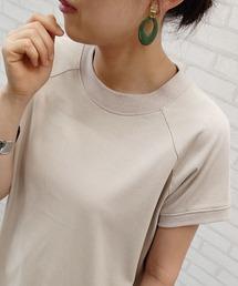 tシャツ Tシャツ 汗ジミ対策ハイネック切替デザインプルオーバー ZOZOTOWN PayPayモール店