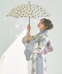 傘 【晴雨兼用傘】バンブー 持ち手ドット 日傘|ZOZOTOWN PayPayモール店