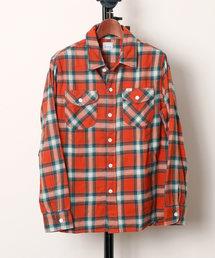 シャツ ブラウス Lee リー / WORK SHIRT チェックネルワークシャツ / LT1033|ZOZOTOWN PayPayモール店