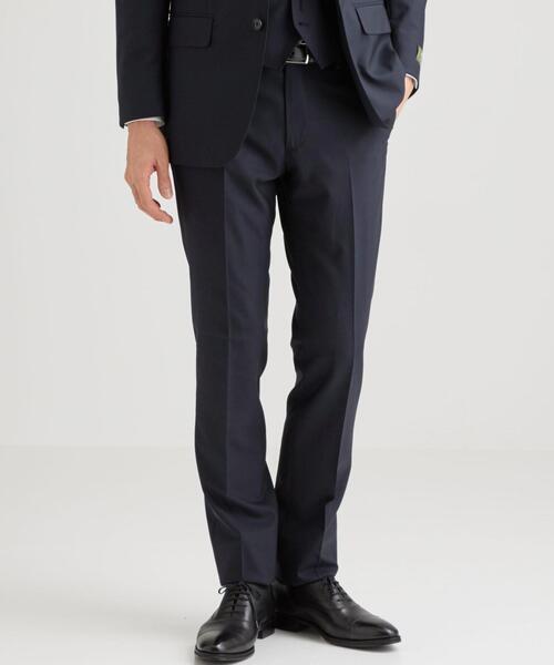 パンツ スーツ レダ REDA 新色追加 トロピカル ノープリーツ 授与 スーツパンツ 無地 スリム
