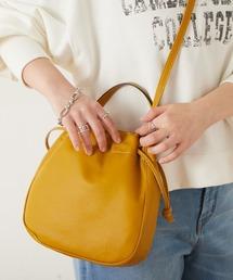 バッグ ハンドバッグ 【LAURA DI MAGGIO/ラウラ・ディ・マッジオ】レザー巾着型BAG|ZOZOTOWN PayPayモール店