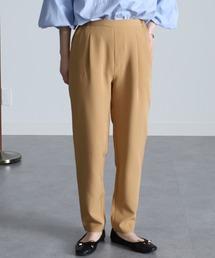 パンツ スラックス [低身長サイズ有]美脚シルエットタックテーパードパンツ|ZOZOTOWN PayPayモール店