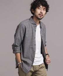 ドレスネル ミニブロックチェックシャツ 長袖|ZOZOTOWN PayPayモール店