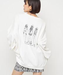 tシャツ Tシャツ ルーズダメージスウェットトップス|ZOZOTOWN PayPayモール店