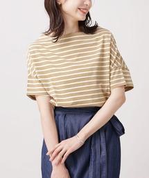 tシャツ Tシャツ WEB限定/ボーダーワイドドロップTシャツ 半袖 ZOZOTOWN PayPayモール店