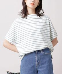 tシャツ Tシャツ WEB限定/ボーダーワイドドロップTシャツ 半袖|ZOZOTOWN PayPayモール店